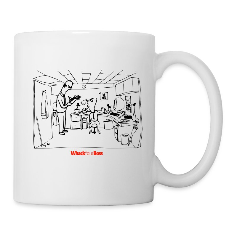 Whack_Your_Boss_Transparent - Coffee/Tea Mug