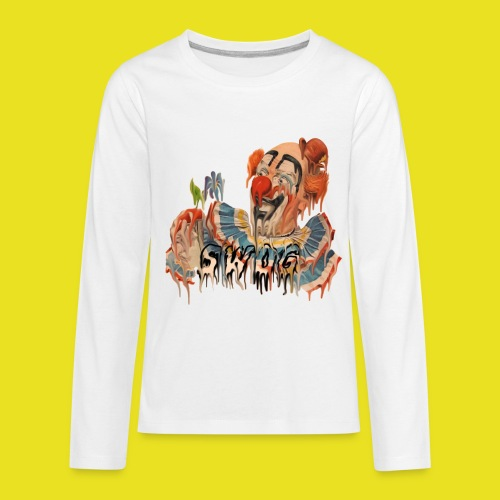 DRIP CLOWN Long Sleeve - Kids' Premium Long Sleeve T-Shirt
