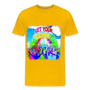 Get Your Summer On Men's T-Shirt - Men's Premium T-Shirt