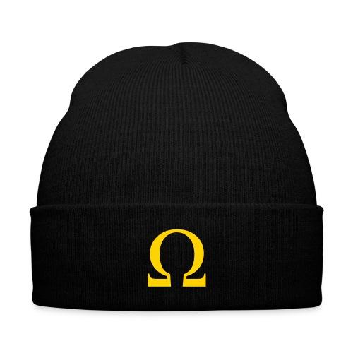 Omega Knit Cap - Knit Cap with Cuff Print