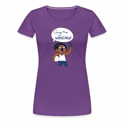 Google Maps - Women's Premium T-Shirt