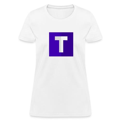 Women's Tshirt Purple Logo (No Shadow) - Women's T-Shirt
