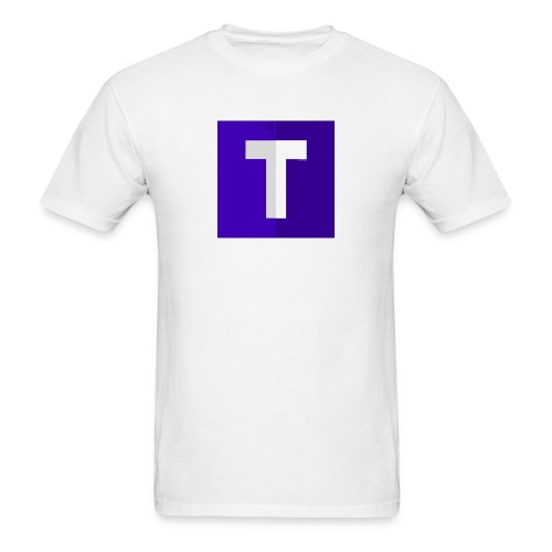 Men's Tshirt Purple Logo (No Shadow) - Men's T-Shirt