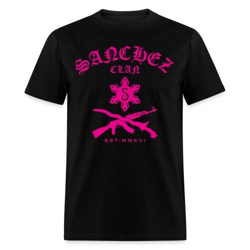 Aimee Pink Sanchez Clan T-Shirt - Men's T-Shirt