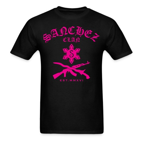 Aimee Pink Sanchez Clan T-Shirt - Men's T-Shirt