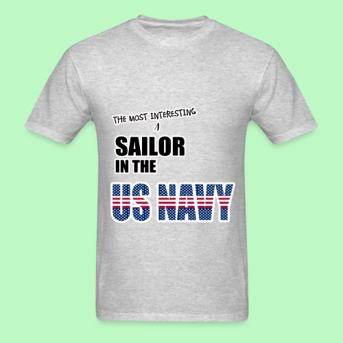 The Most Interesting Sailor - Men's T-Shirt