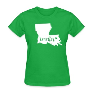 Louisiana teacher - Women's T-Shirt