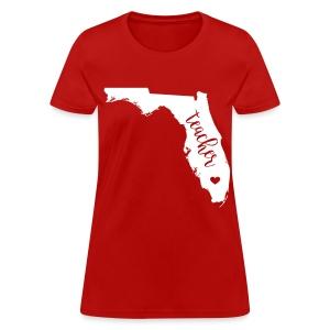 Florida teacher - Women's T-Shirt