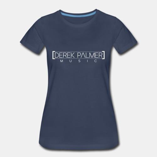 Premium Tee - Music Logo [White] - Women's Premium T-Shirt