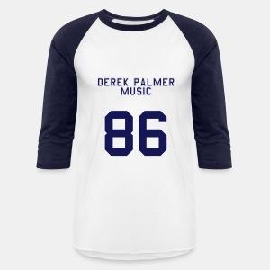 Baseball Tee - '86 [Blue/White] - Baseball T-Shirt