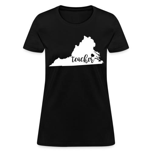 Virginia teacher - Women's T-Shirt