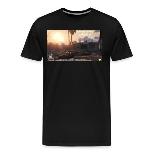 SLOTH GANG THE MOVIE POSTER SHIRT - Men's Premium T-Shirt