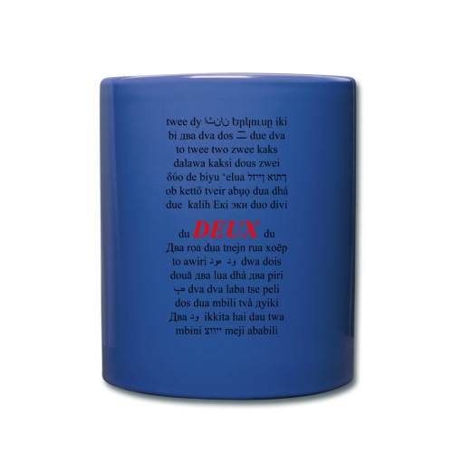 DEUX Language Mug - Full Color Mug