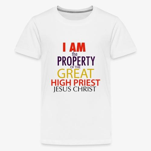 Jesus, My High Priest - Kids' Premium T-Shirt