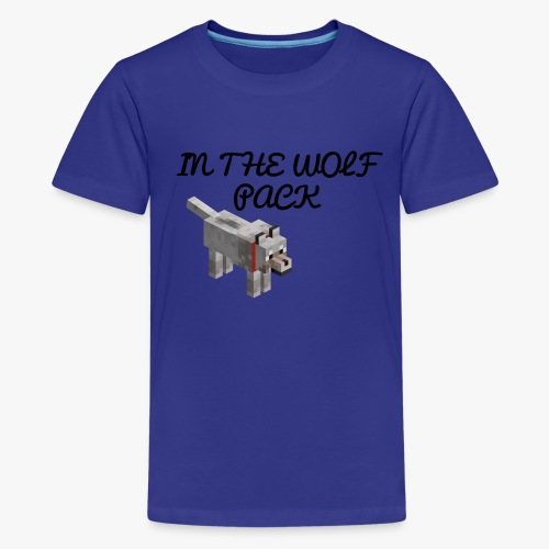 In the wolf pack T shirt - Kids' Premium T-Shirt