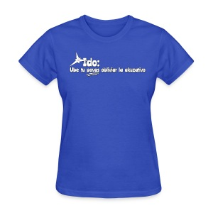 Forget the accusative! (Feminine) - Women's T-Shirt