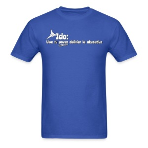 Forget the accusative! (Maculine) - Men's T-Shirt
