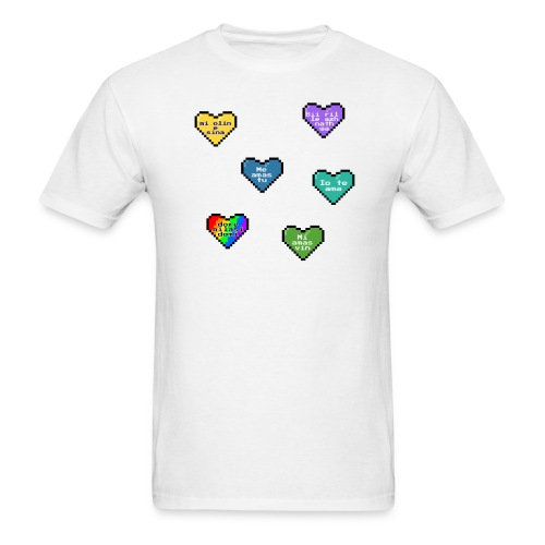 Conlang Love (Masculine) - Men's T-Shirt