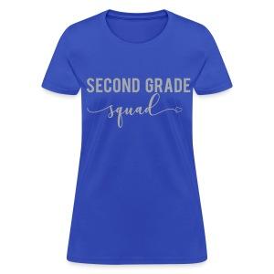 GLITTER second grade squad - Women's T-Shirt