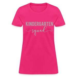 GLITTER kindergarten squad - Women's T-Shirt