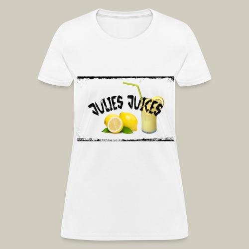 Womens Julies' Juices T-shirt - Women's T-Shirt