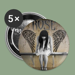 Rose - SFTRA Button - Small Buttons