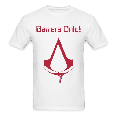 ASSASSIN'S CREED GAMERS ONLY SHIRT - Men's T-Shirt