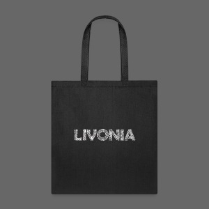 Livonia Michigan Words - Tote Bag