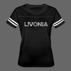 Livonia Michigan Words - Women's Vintage Sport T-Shirt