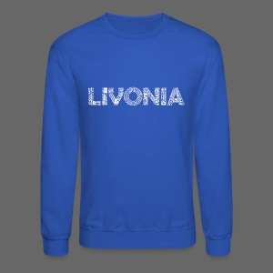 Livonia Michigan Words - Crewneck Sweatshirt