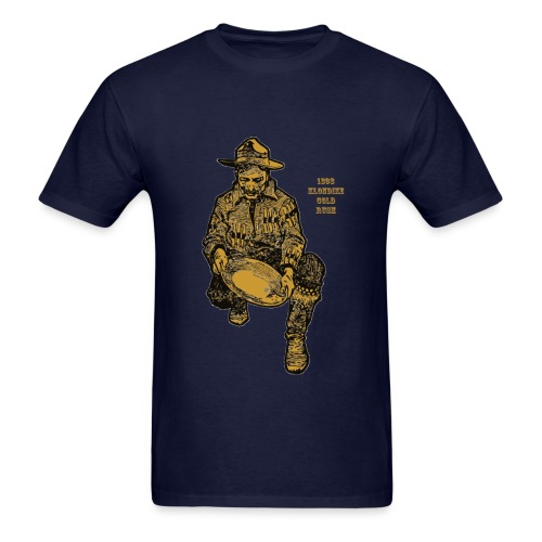 1898 Alaska Klondike Gold Rush Miner - Men's T-Shirt