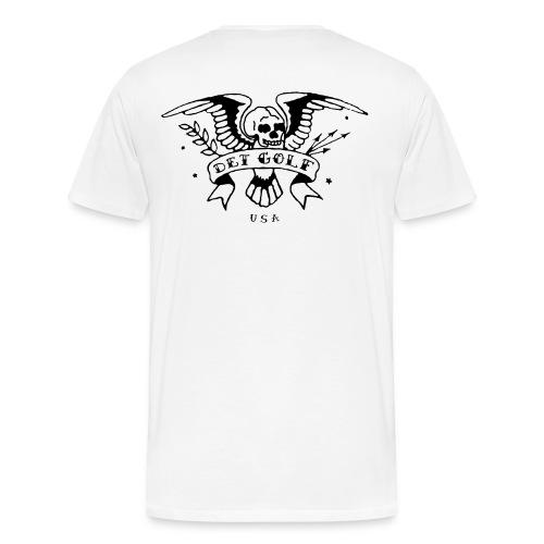 White T - Men's Premium T-Shirt