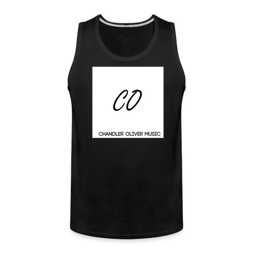 CO Signature Black Tank-Top - Men's Premium Tank