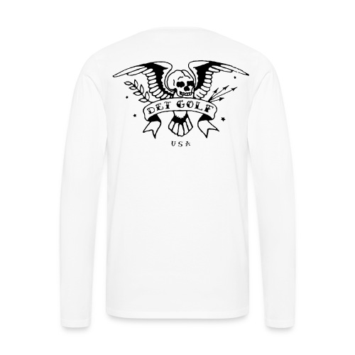 White Long Sleeve T - Men's Premium Long Sleeve T-Shirt