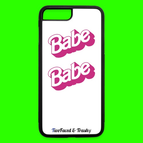 total babe rubber iphone 7 plus - iPhone 7 Plus/8 Plus Rubber Case