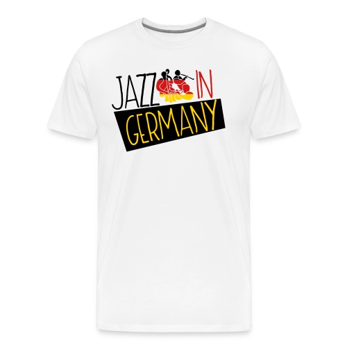 Jazz In Germany - Men's Premium T-Shirt
