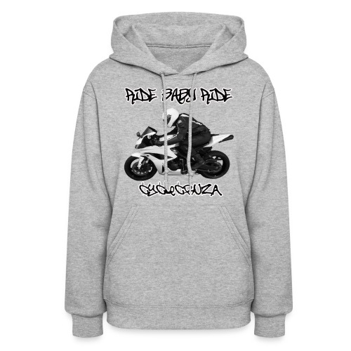 CycleCruza Ride Baby Ride Women's Hoodie - Women's Hoodie