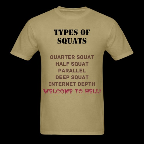 Welcome to Hell Tee - Men's T-Shirt
