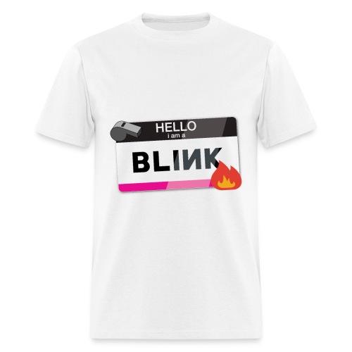 Hello I am a BLINK - Men's T-Shirt