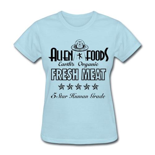 Alien Foods Fresh Meat - W - Women's T-Shirt