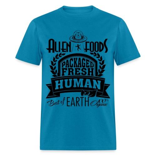 Alien Foods Packaged Fresh - M - Men's T-Shirt