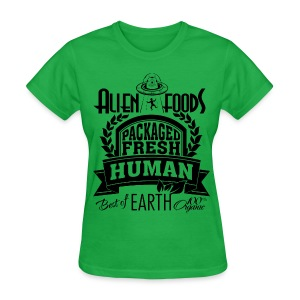 Alien Foods Packaged Fresh - W - Women's T-Shirt