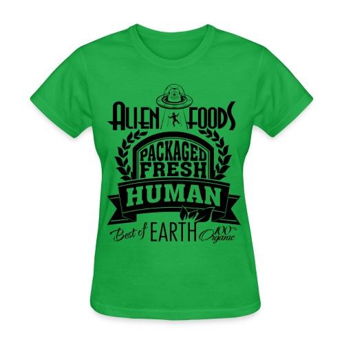 Alien Foods Packaged Fresh - W - Women's T-Shirt