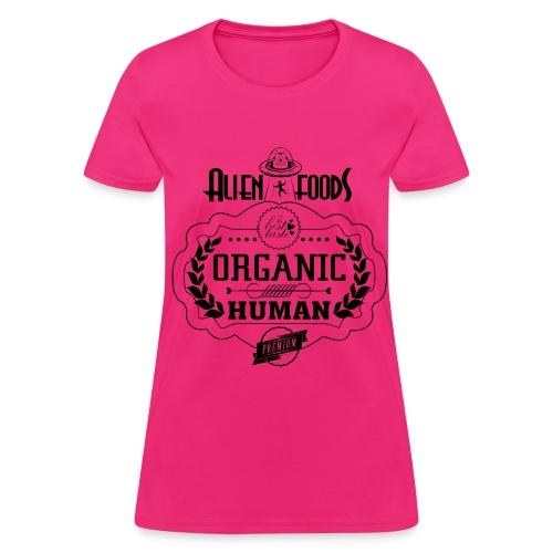 Alien Foods Organic Human - W - Women's T-Shirt