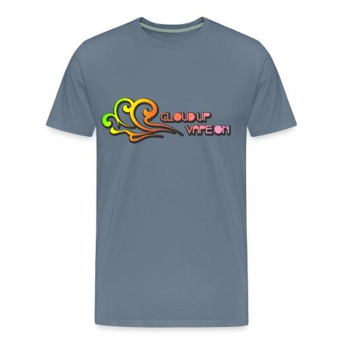 Cloud Up Vape On - Colors - Men's Premium T-Shirt
