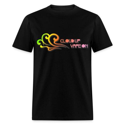 Cloud Up Vape On - Colors - Men's T-Shirt