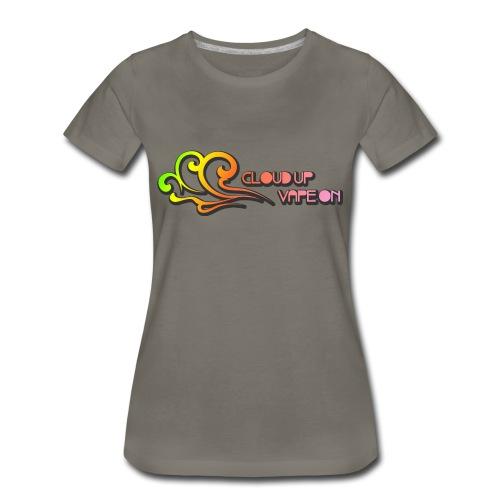Cloud Up Vape On - Colors - Women's Premium T-Shirt