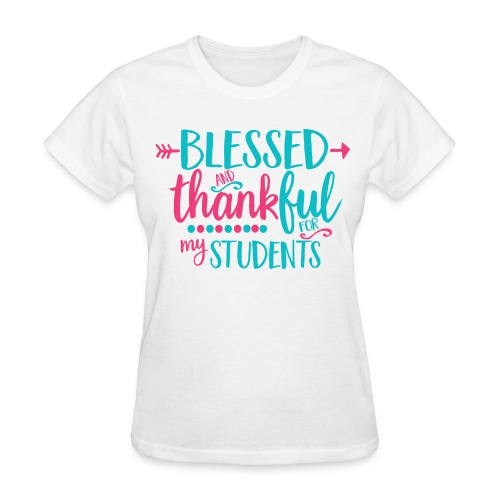 Blessed and Thankful Women's Top - Women's T-Shirt