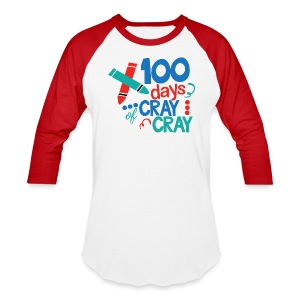 100 Days Unisex Baseball T - Baseball T-Shirt