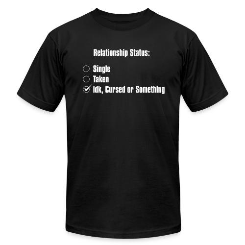 RELATIONSHIP STATUS - Men's  Jersey T-Shirt